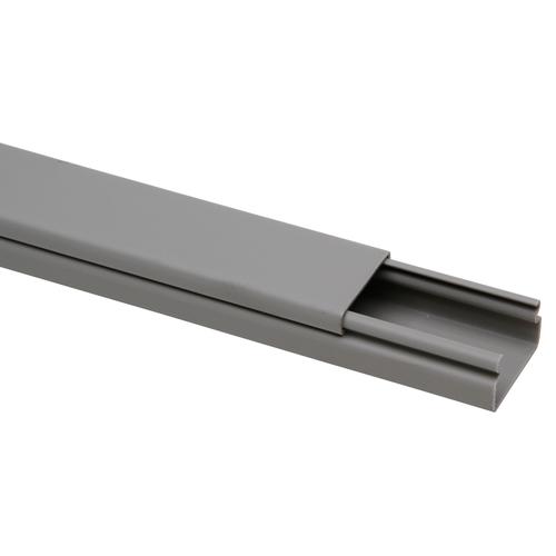 Kopp kabelgoot 30x18mm grijs 2m