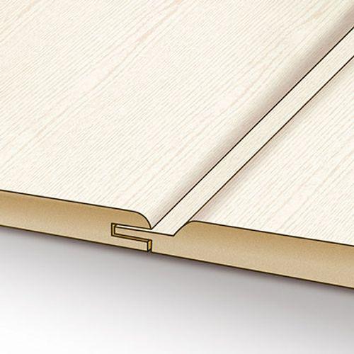 HDM wand-|plafondpaneel Swingline structuur wit