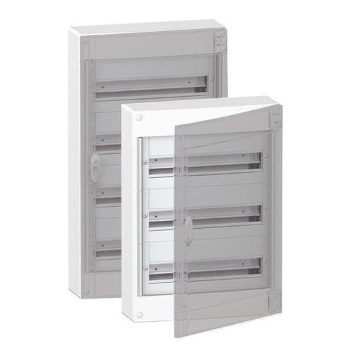 Schneider zekeringskast Boxplus18 2 rijen + deur transparant