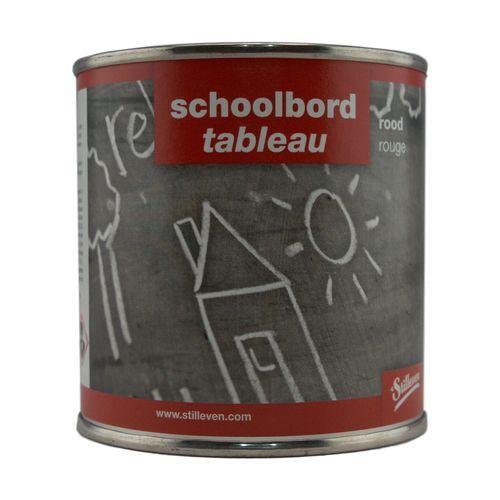 't Stilleven schoolbordverf rood 250CC