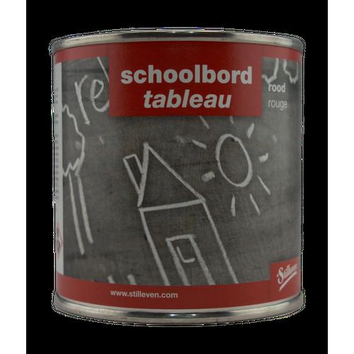 't Stilleven schoolbordverf rood 250ml
