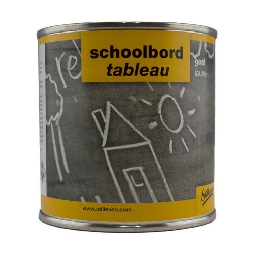 't Stilleven schoolbordverf geel 250CC
