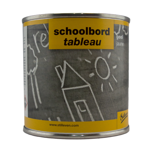 't Stilleven schoolbordverf geel 250ml