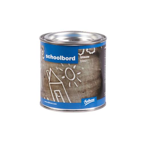 't Stilleven schoolbordverf blauw 250ml