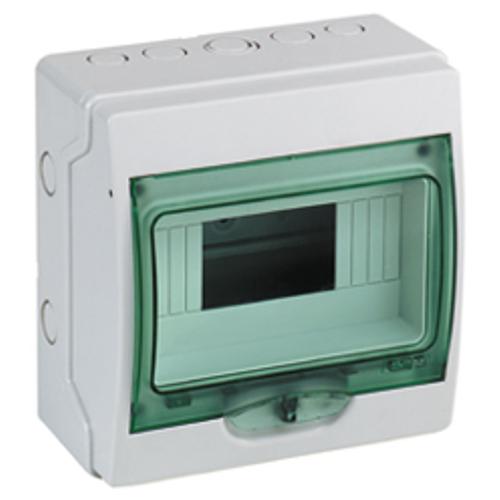 Coffret vide Schneider 4 modules IP65 EK9 gris