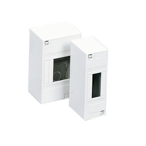Coffret vide mini Schneider 4 modules gris