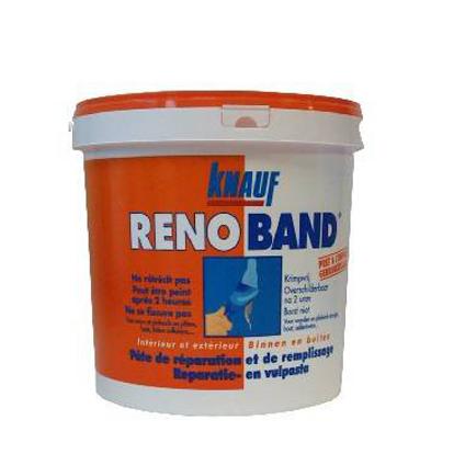 Pâte de réparation et de remplissage Knauf 'Renoband' 1 L