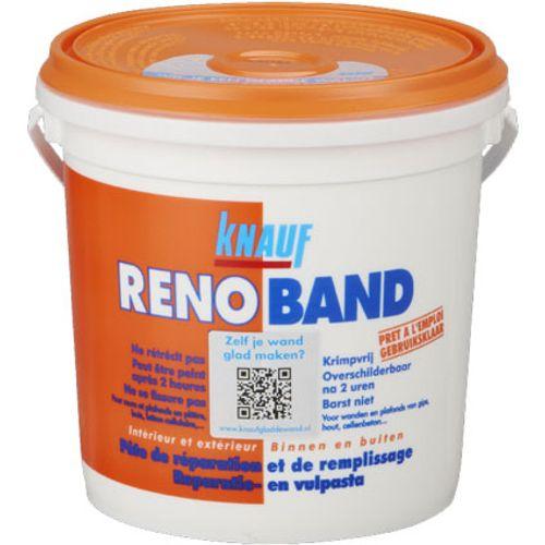 Mastic de remplissage Knauf 'Renoband' 4 L