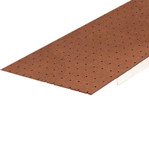 Panneau dur Sencys brun perforé 122x61x0,3cm