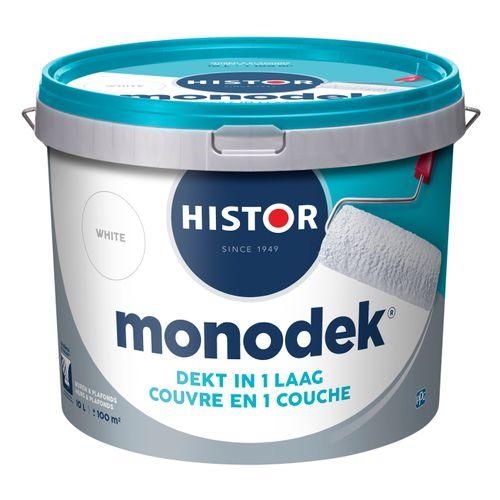 Histor latex Monodek mat wit 10L