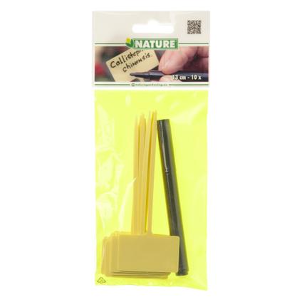 Etiquettes à planter Nature 13 cm – 10 pcs
