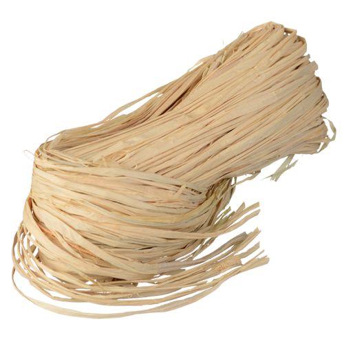 Dun touw natuurraffia 150gr