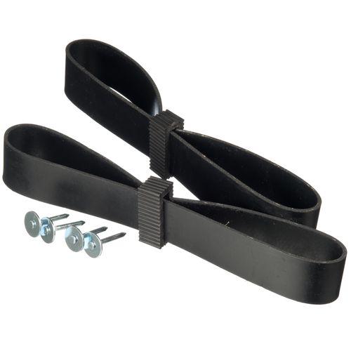 Boomband rubber met canvas 60cm 2 stuks