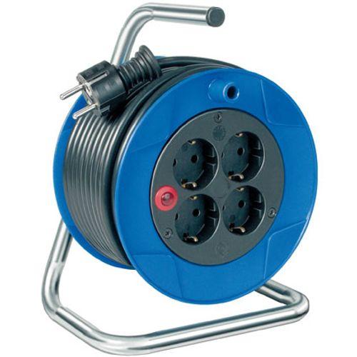 Brennenstuhl compact kabelhaspel blauw/zwart 15m H05VV-F 3G1,5