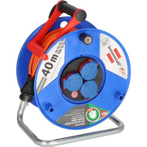 Brennenstuhl kabelhaspel garant IP44 40m AT-N07V3V3-F 3G1,5 oranje