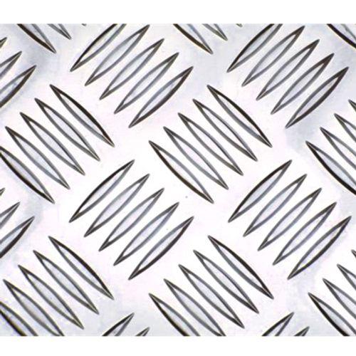 Aluminium traanplaat 100 x 50cm