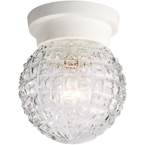 Caroline plafondlamp wit 1x40W