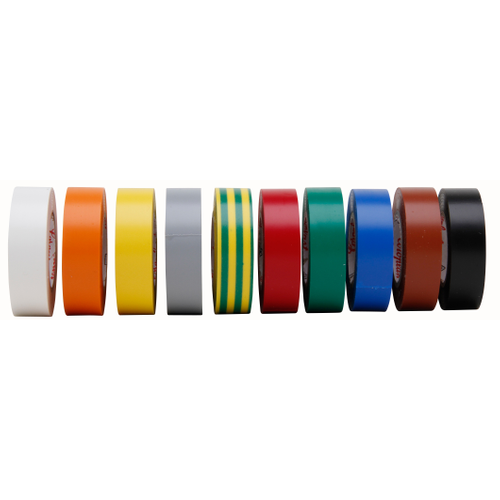 Isolatieband 15mmx10m multicolor 10st.