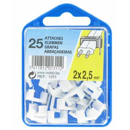 Reddy clips 2x2,5mm² 25st.