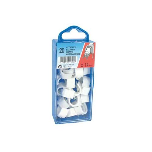 Reddy clips 14mm wit 20st.