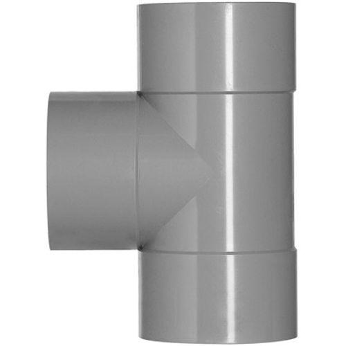 Martens PVC t-stuk 40x40mm 3xlm 90gr grijs