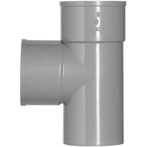 Martens PVC t-stuk 40x40mm 2xlm 90gr grijs