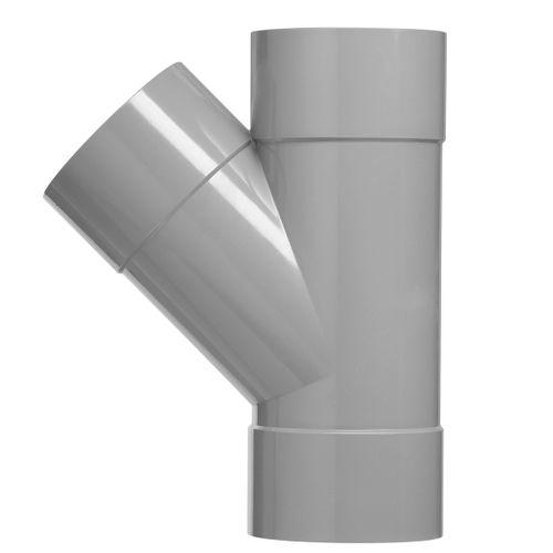 Martens PVC t-stuk 50x50mm 3xlm 45gr grijs