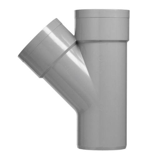 Martens lijm T-stuk 'MVV - 45 graden' PVC diam 90 mm