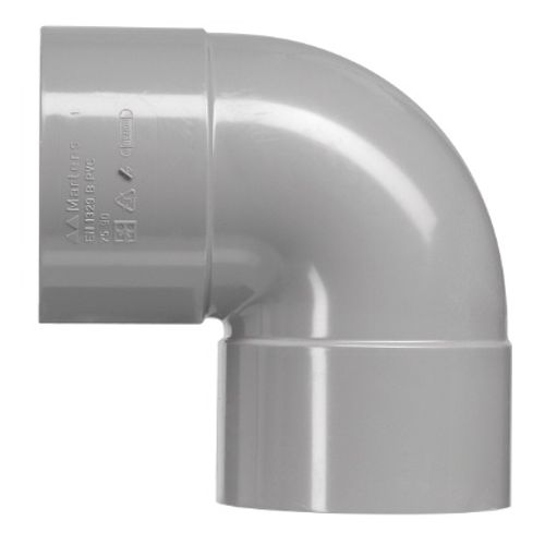 Coude à coller Martens 'FF - 90 degrés' PVC diam 40 mm