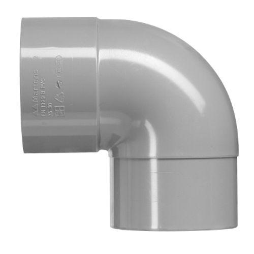 Martens lijmbocht 'MV - 90 graden' PVC diam 100 mm