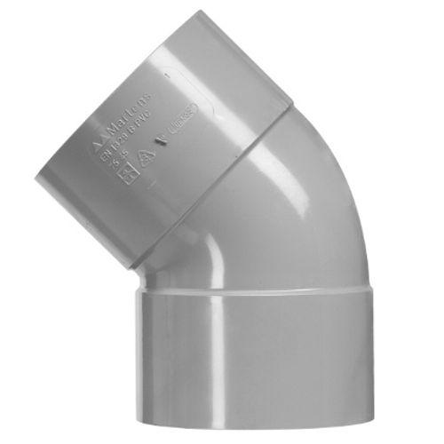 Coude à coller Martens 'FF - 45 degrés' PVC diam 40 mm