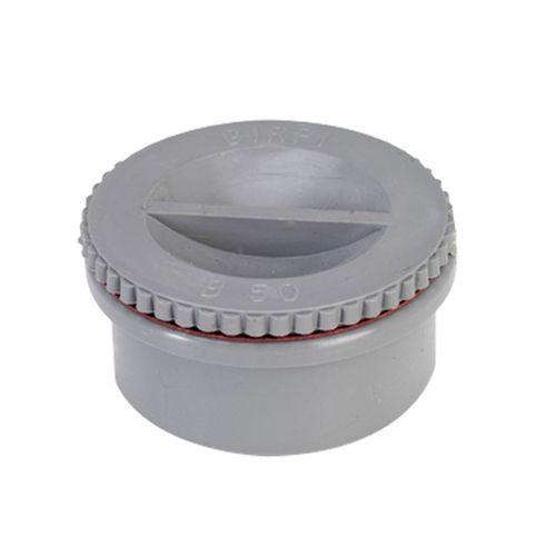 Martens lijmschroefdeksel PVC diam 100 mm
