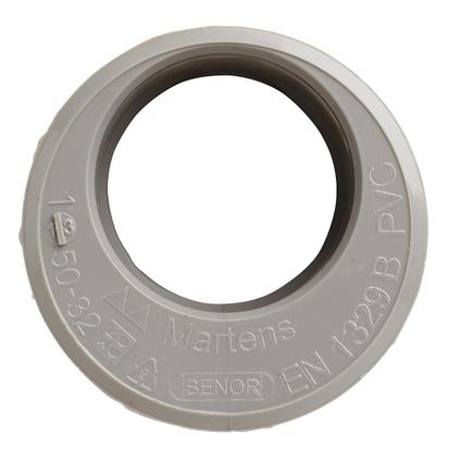 Martens verloop 32x50mm 1xlm grijs