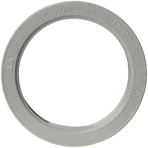 Martens verloop 40x50mm 1xlm grijs
