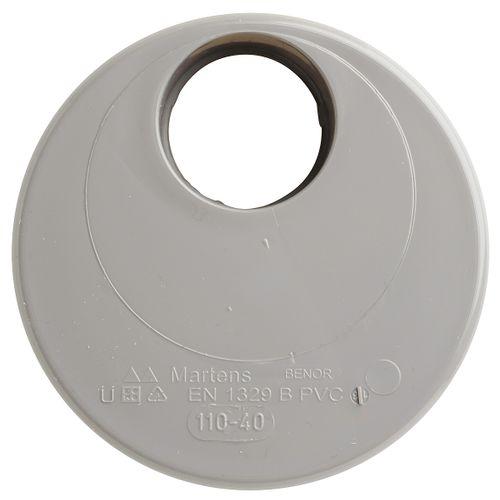 Martens verloop 40x110mm 1xlm grijs
