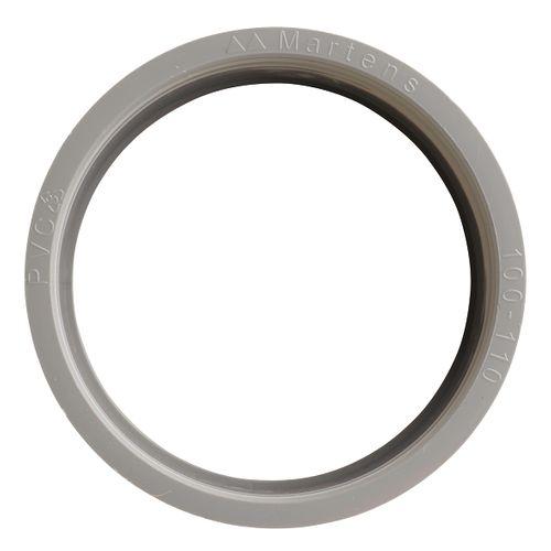 Martens verloop 100x110mm 1xlm grijs