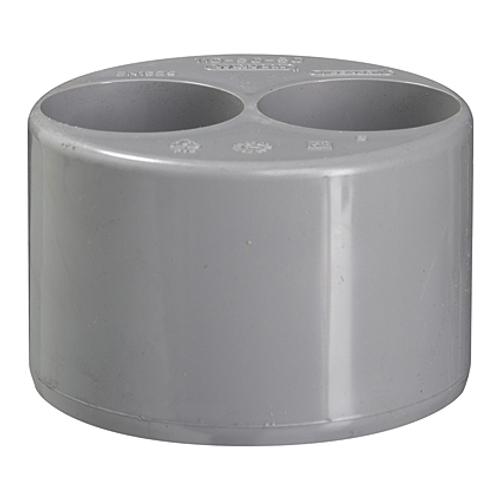 Martens dubbele verloop inwendig PVC diam  90-40-40 mm