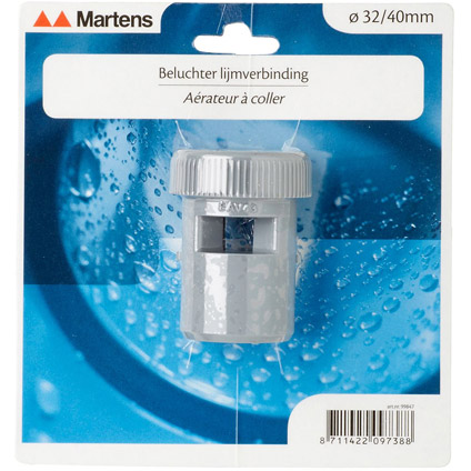 Martens beluchter 32/40mm grijs