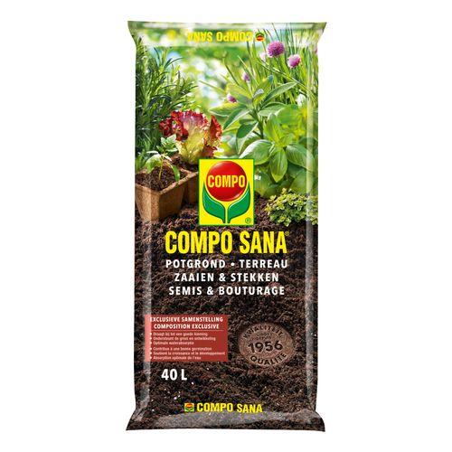Terreau semis & bouturage Compo Sana 40L