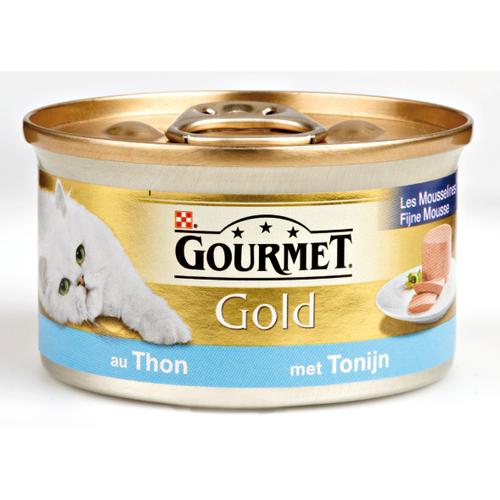 Gourmet Gold blik mousse tonijn 85 gram