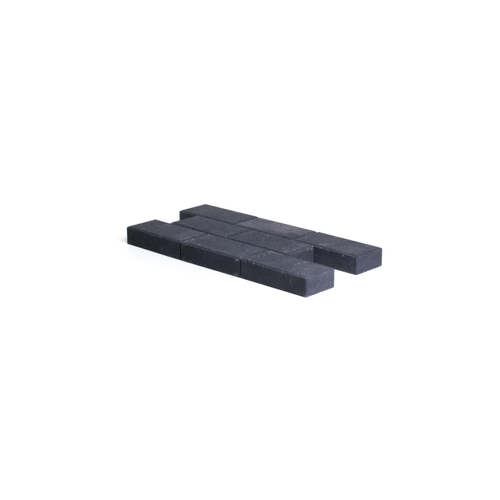 Pavé en béton Coeck 22x11x5cm noir chanfrein 3,5/5,5
