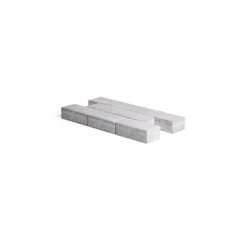 Pavé en béton Coeck 22x11x7cm gris chanfrein 3,5/5,5 benor