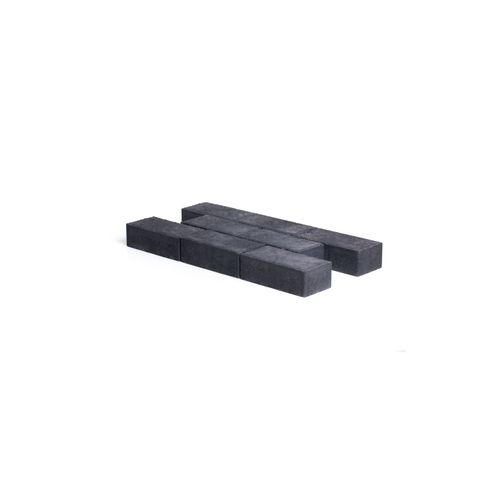 Pave en beton Coeck 22x11x7cm noir chanfrein 3,5/5,5 *benor*