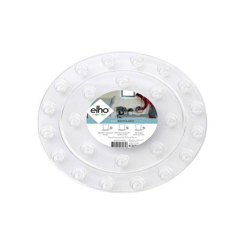 Elho vloerbeschermer rond 10cm transparant
