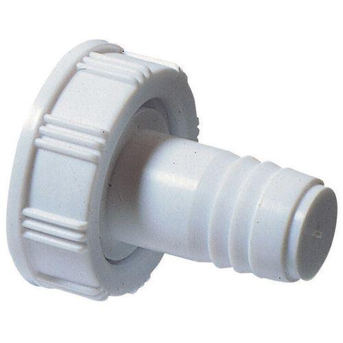Wirquin rechte wasmachine-aansluiting wit
