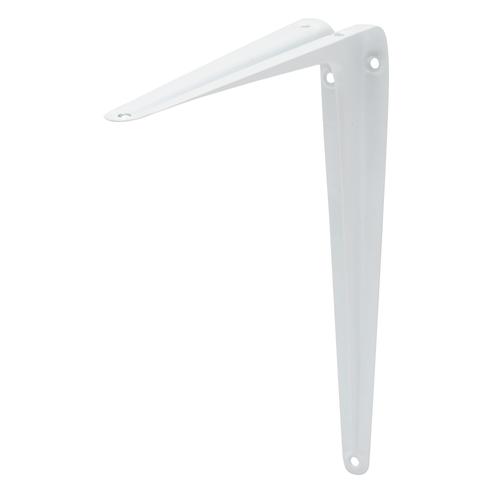 Duraline plankdrager model 6 wit 25cm