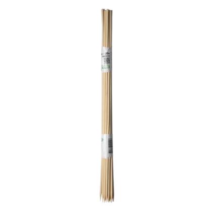 Tuteur bambou refendu Nature naturel 30 cm – 20 pcs