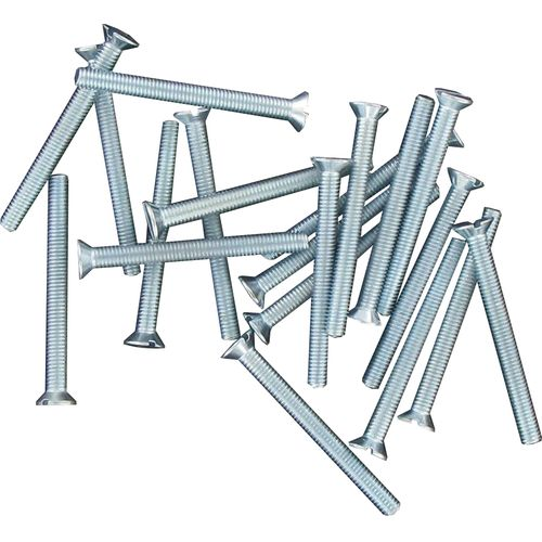Kopp metaalschroeven + verzonken kop M3x30mm 20 stuks
