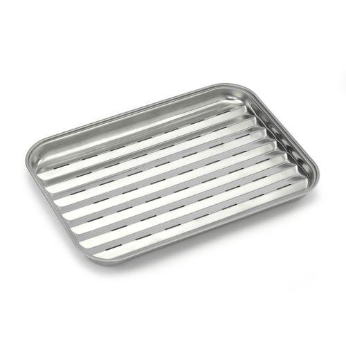 Barbecook grillschaal roestvrij staal 34,5x24cm