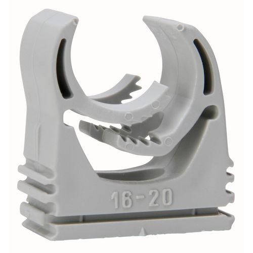 Kopp Multi-Quick zadel 16-20mm koppelbaar grijs 5st.
